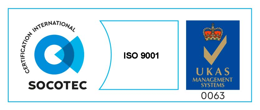 We are an ISO9001:2015 Certified Company